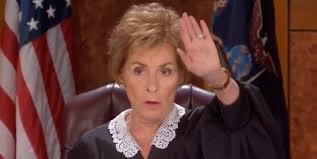 Judge Judy and Business Decisions