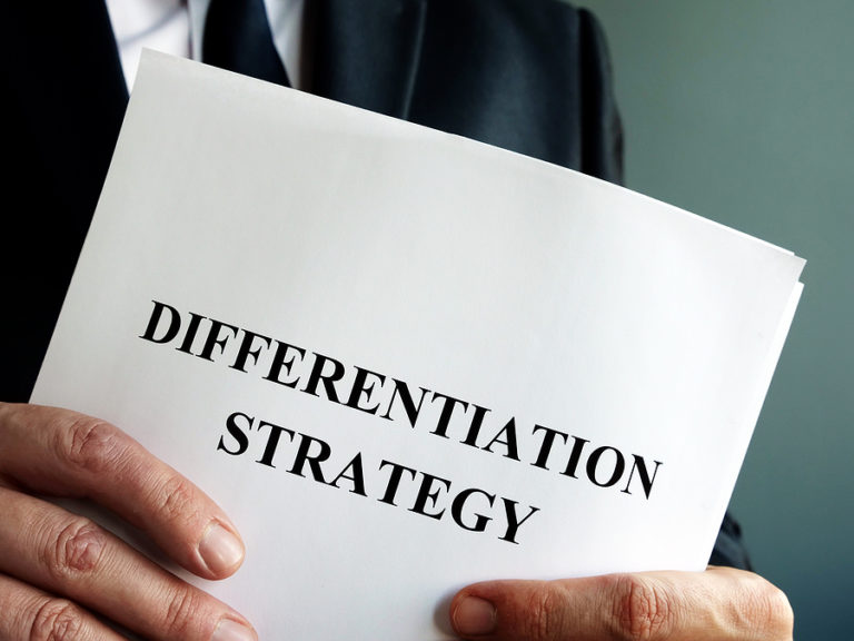 Differentiation Strategy in 2021